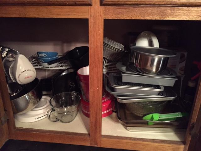 PT down kitchen cabinet(2)